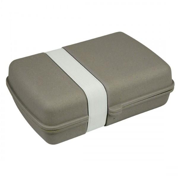 Zuperzozial - Lunch Box Grau 1400337 abbaubar Brotzeitdose Brotdose Brotbox Dose