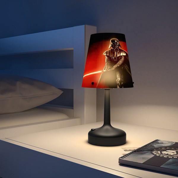 NEU PHILIPS Star Wars Darth Vader Mini-Tischleuchte LED Lampe 718893016