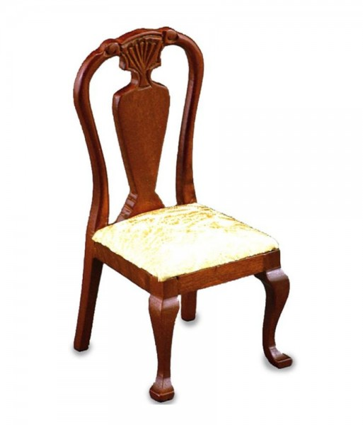 Reutter Porzellan Miniaturen - Speisezimmerstuhl 1.754/3 Stuhl Möbel Puppenstube