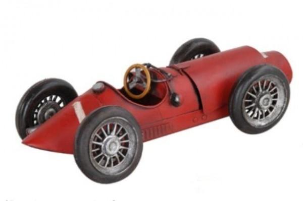 Nitsche - Blechmodell Italienischer Sportwagen Rot (37295) Rennwagen Modell Auto
