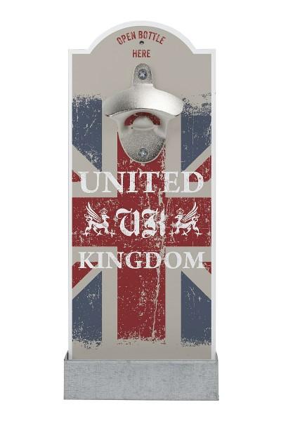 """Contento - Wand- Flaschenöffner """"United Kingdom"""" (866357) Bierflaschenöffner"""