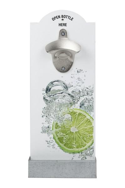 """Contento - Wand- Flaschenöffner """"Limette - Spritz"""" (866362) Bierflaschenöffner"""