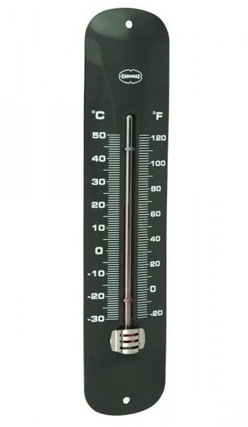 Cabanaz - Thermometer Grau Dunkelgrau 1201053 Innenthermometer Außenthermometer