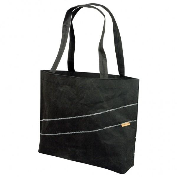 Zuperzozial -Shopper Einkaufstasche Schultertasche Umhängetasche schwarz 1460051