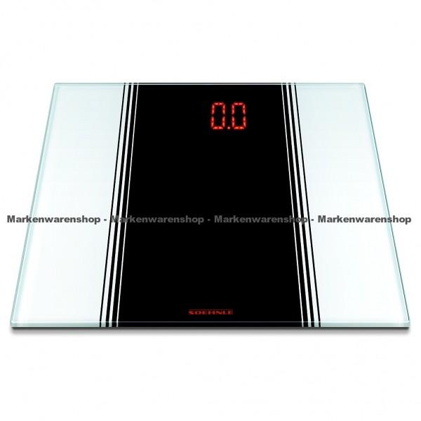 Soehnle Digitale Personenwaage Sensation White 63327, Waage