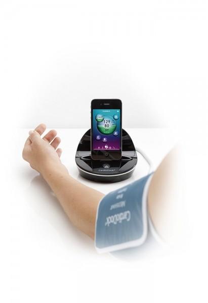 Medisana 51285 CardioDock 2.0 schwarz für iPod, ipad, iPhone Blutdruck