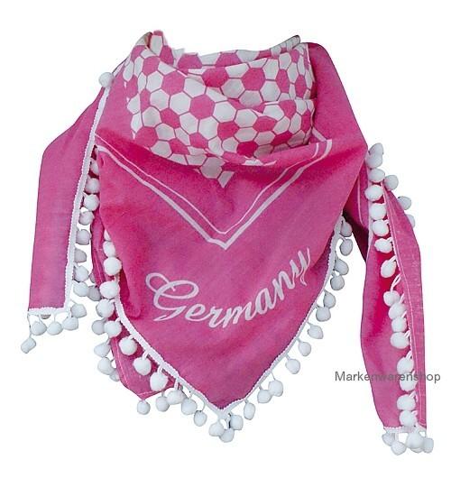 Tussi on Tour - Fußball Fan-Artikel Halstuch Germany 10470300 Schal Pink Frauen