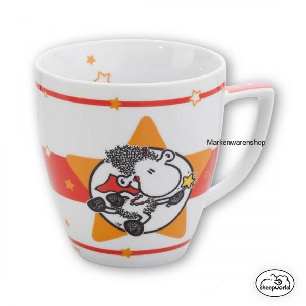 "Sheepworld - Tasse ""Super Mama"" 0,5l (42272) Kaffeetasse Teetasse Kaffeebecher"
