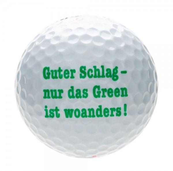 "Karwen - Magnum Tour Design Golfball ""GUTER-SCHLAG"" B99-29 Golf Bälle"