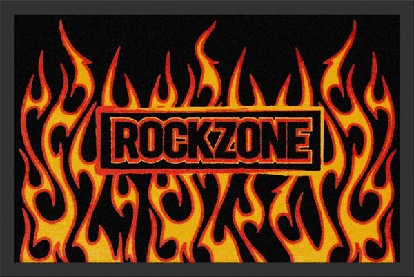"""Rockbites - Fußmatte """"RocKzone"""" Mehrfarbig Nr.153 (100698) Türmatte"""