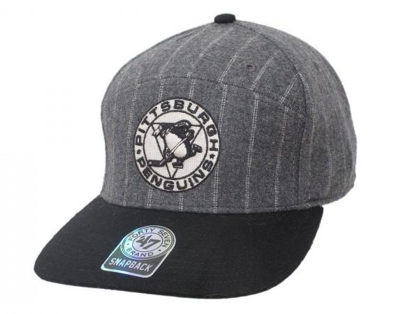 "47 Brand - NHL Cap Basecap Kappe Mütze Eishockey ""Pittsburgh Penguins"" (Nr.80)"