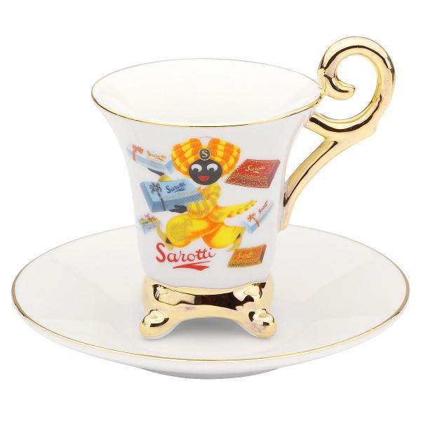 Sarotti Mokkatasse Espressotasse Royal Tasse Tafeln Reutter Porzellan 86.052/0