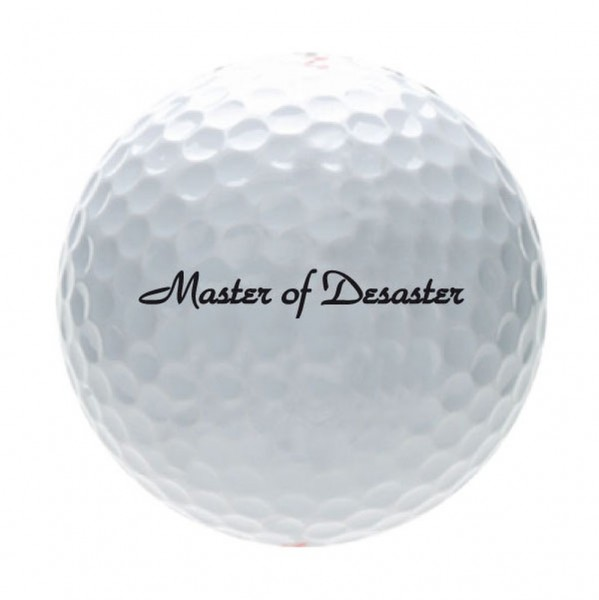 "Karwen - Magnum Tour Design Golfball ""MASTER-OF-DESASTER"" B99-316 Golf Bälle"