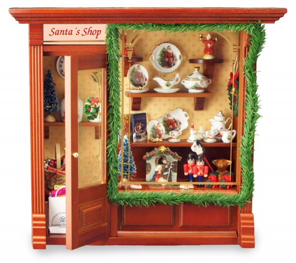Reutter Miniaturen - Wandbild Weihnachtsladen 21x23cm (1.797/7) Weihnachten