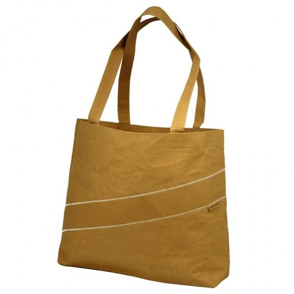 Zuperzozial - Shopper Einkaufstasche Schultertasche Umhängetasche braun 1460050