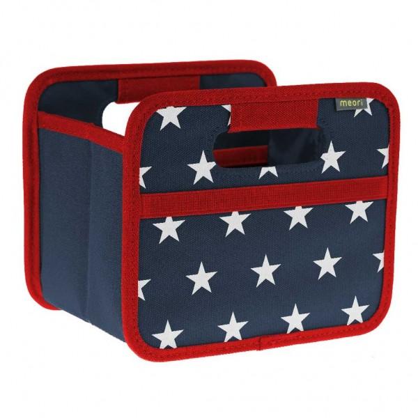Meori - Faltbox Mini Aufbewahrungsbox Klappbox American Stars A100316