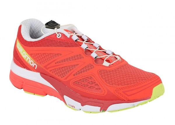 Salomon - Laufschuhe X-Scream 3D 373280 Damen EU 43 1/3 Rot Sportschuhe Sneakers