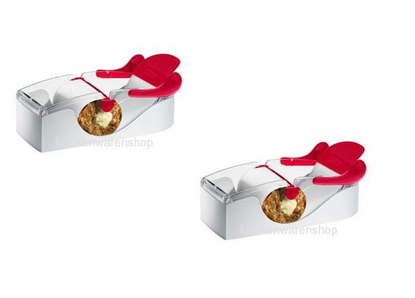 Leifheit 2 Stück zum Preis von einem Küchenhelfer Perfect Roll Party Sushi Roll