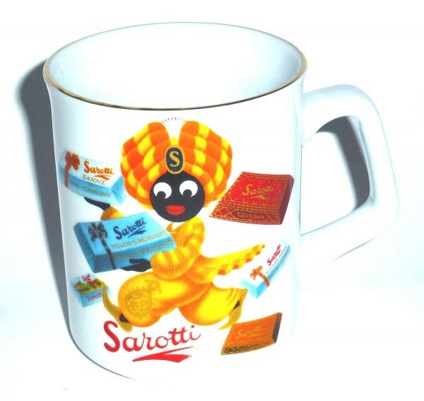 """Reutter Porzellan - Sarotti Becher Motiv """"Tafeln"""" (86.064/0) Kaffeetasse Tasse"""