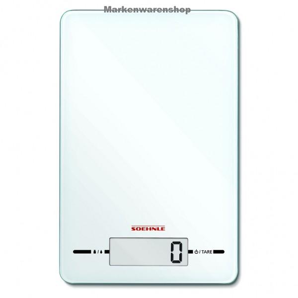 Soehnle Digitale Küchenwaage Page Evolution White