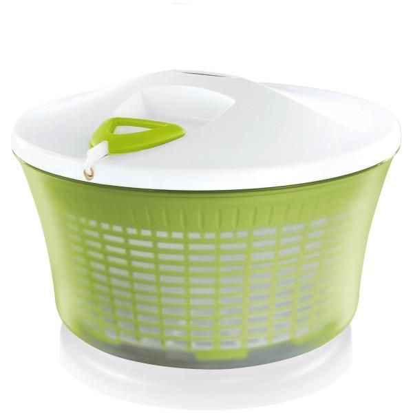 Leifheit, große Salatschleuder, Seilzug ComfortLine V5l Farbe Grün