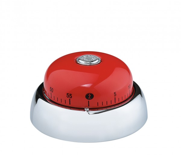 Zassenhaus - Küchentimer Kurzzeitmesser Eieruhr Timer Bell rot 071733