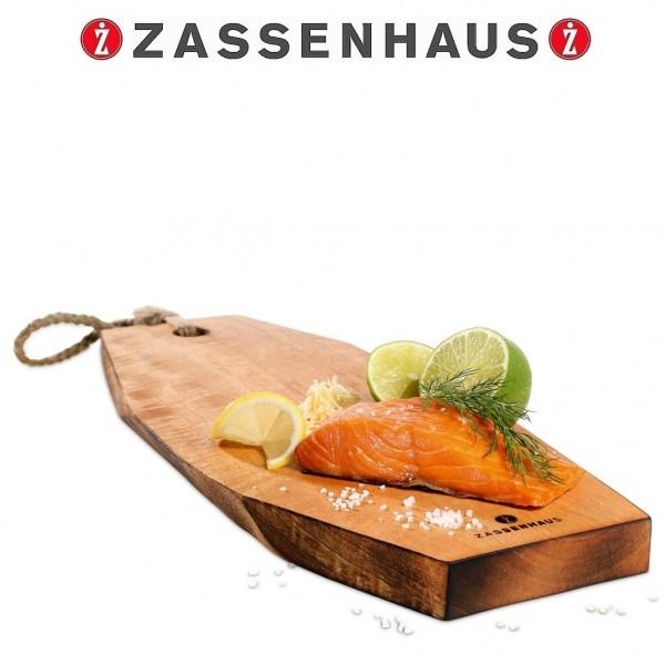 Zassenhaus - Schneidebrett Lachsbrett Servierbrett 40cm Mango 059038