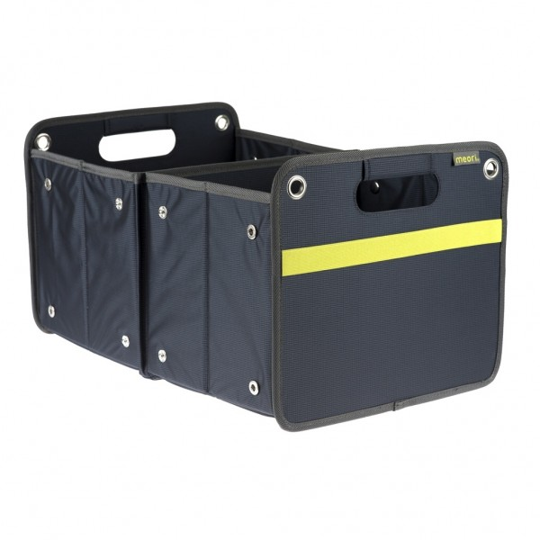 Meori - Faltbox Outdoor Aufbewahrungsbox Klappbox Marine Blau A100072