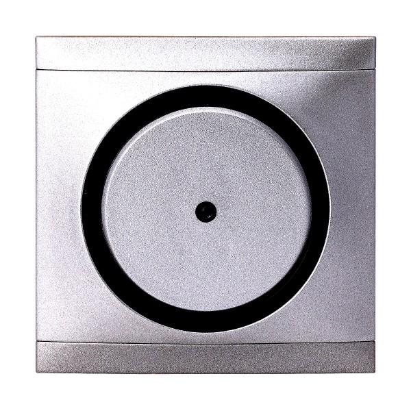 REV Ascoli Titan Silber Kontroll-Wechselschalter m. Rahmen 924108 Lichtschalter