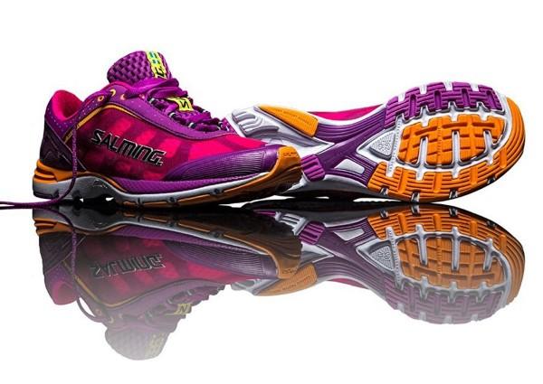 Salming - Laufschuhe Damen Distance Gr. 36 2/3 US 6 Violett 1280021-3538 Jogging