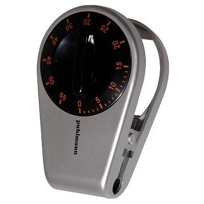 Cabanaz Küchenwecker Schwarz Magnet+Clip Kurzzeitmesser Kurzzeitwecker Eieruhr