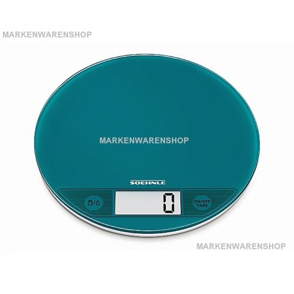Soehnle - Digitale Küchenwaage Flip Petrol Limited Edt. (66176) Backwaage