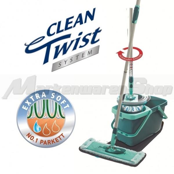 Leifheit Clean Twist System Extra Soft, Bodenwischer, Wischer 52014