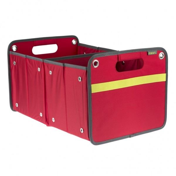 Meori - Faltbox Outdoor Aufbewahrungsbox Klappbox Bahia Rot A100075
