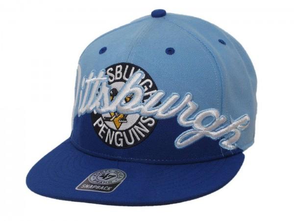 "47 Brand - NHL Cap Basecap Kappe Mütze Eishockey ""Pittsburgh Penguins"" (Nr. 59)"