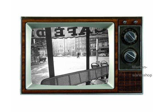 Werkhaus - Bilderrahmen Fotorahmen Photorahmen TV, Holz, braun, Gr. M