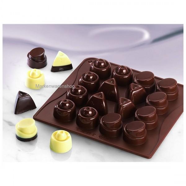 Dr. Oetker - Schokoladenform Classic (02467) Pralinenform Silikonform Confiserie