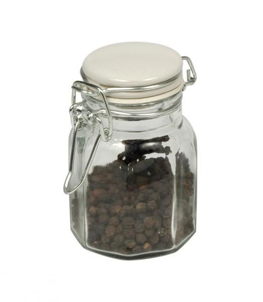 Laursen - Gewürzglas Glasdose luftdicht H 9cm (0640-11) Gewürzdose Dose Vintage