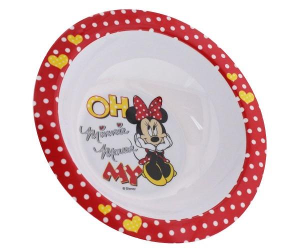 Unitedlabels - Minnie Mouse Schüssel Schale Kindergeschirr Geschirr (0119206)