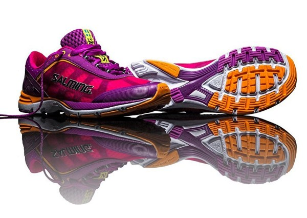 Salming - Laufschuhe Damen Distance Gr. 36 US 5,5 Violett 1280021-3538 Jogging