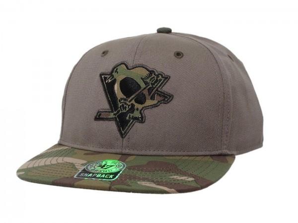 "47 Brand - NHL Cap Basecap Kappe Mütze Eishockey ""Pittsburgh Penguins"" (Nr. 43)"