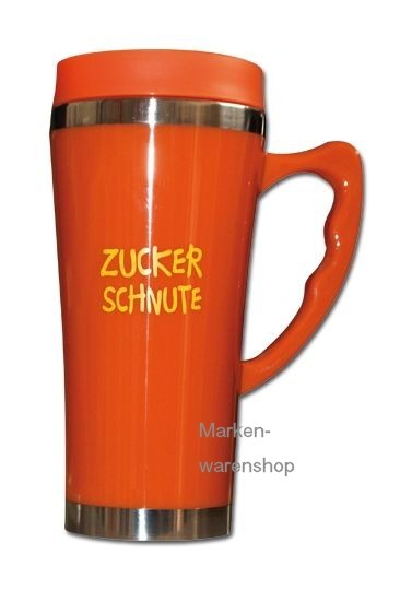 "Trend Import - Thermobecher Isolierbecher Bürotasse ""Zuckerschnute"""