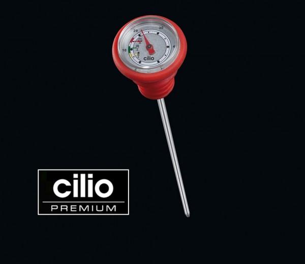 Cilio - Weinthermometer Meßbereich 0-50°C rot 281101