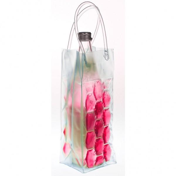 Genius - Flaschenkühler Sektkühler Weinkühler Kühltasche pink 15082
