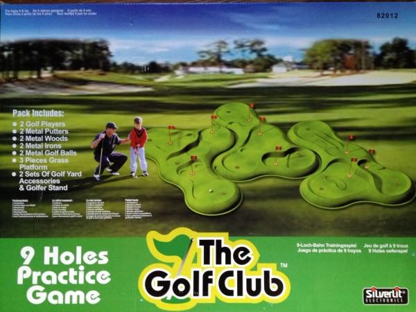 NEU Silverlit 82012 Golf Club änlich wie tipp kick Golfspiel + 10 Gratis Spieler