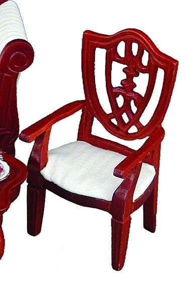 Reutter Miniaturen - Stuhl Bezug weiß (1.750/5) für Puppenhaus