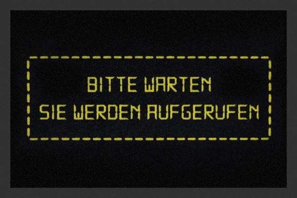 """Rockbites Fußmatte """"Sie werden Aufgerufen"""" Türmatte Fußabstreifer 48 (100837)"""