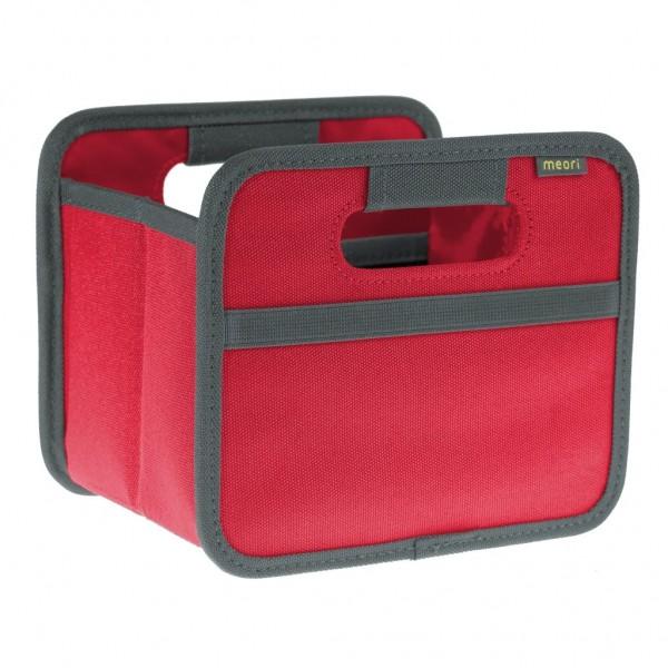 Meori - Faltbox Mini Aufbewahrungsbox Klappbox Hibiskus Rot A100084