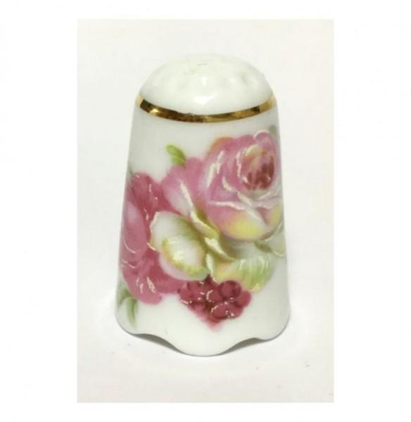 """Reutter Porzellan Miniaturen - Fingerhut """"Spanische Rose"""" (80.256/6)"""