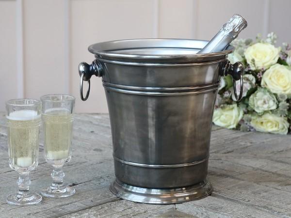 Champagnerkühler Sektküler Weinkühler Eiswürfeleimer Chic Antique 61549-12